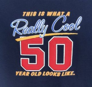 Really Cool 50 Year Old T Shirt   Funny 50th Birthday Gift