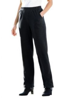 Woman Within Plus Size Tall Slim Fit Ponte Knit Pants