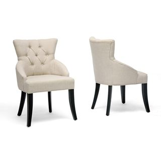 Halifax Light Beige Dining Chair (Set of 2)
