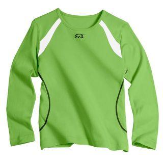 IguanaMed Womens Iguana Green Long Sleeve Skinz T shirt