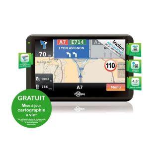 GPS Mappy Iti E408 CAV   Achat / Vente GPS AUTONOME GPS Mappy Iti E408