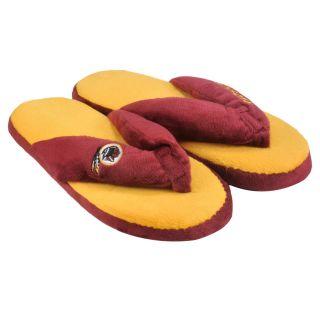 Washington Redskins Womens Flip Flop Thong Slipper