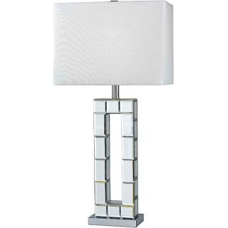 Rothery 31 inch Chrome Mirror Table Lamp
