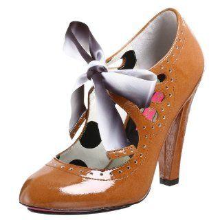 Betsey Johnson Terra Pump,Camel,9.5 M Shoes