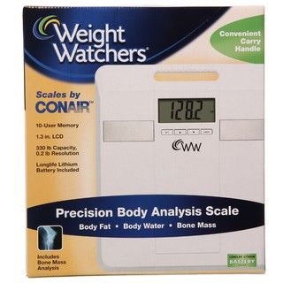 Weight Watchers by Conair Body Analysis Scale