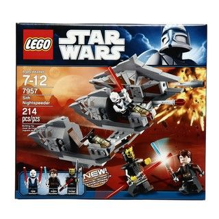 LEGO Star Wars Sith Nightspeeder Toy Set 7957