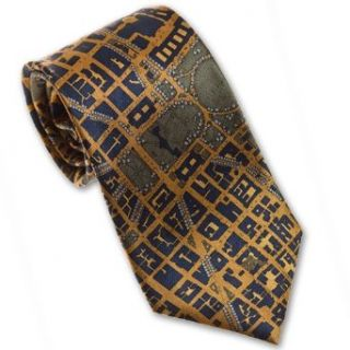 CIVITAS Map of Washington DC   Mens Silk Necktie