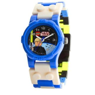 LEGO Star Wars Blue and white Plastic Luke Skywalker Character Watch