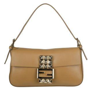 Fendi Borsa Leather Baguette Shoulder Bag