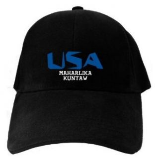 Caps Black Usa Maharlika Kuntaw  Martial Arts Clothing