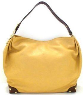 Michael Kors Joplin Large Tan Leather Shoulder Bag
