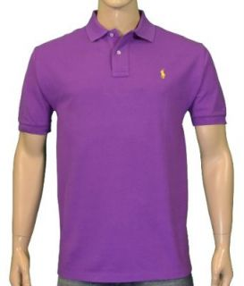 Polo Ralph Lauren Mens Mesh Shirt Purple XL Clothing