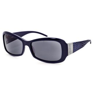 Jean Paul Gaultier Womens Blue Swarovski Crystal Sunglasses