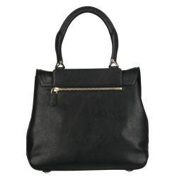 Givenchy Mirte Large Black Leather Saddle Bag