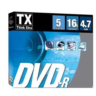 TX 5 DVD R 16x   Achat / Vente CD   DVD   BLU RAY VIERGE TX 5 DVD R