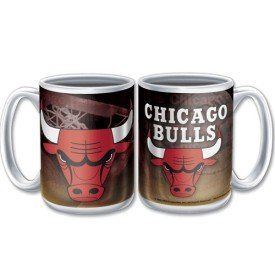 Chicago Bulls Ceramic Coffee Mug Sports & Outdoors