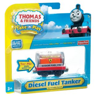 Fisher Price Thomas and Friends Small Diesel Car Toy Train Engine