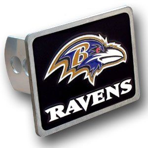 NFL Baltimore Ravens Team Logo Hitch Cover Sports