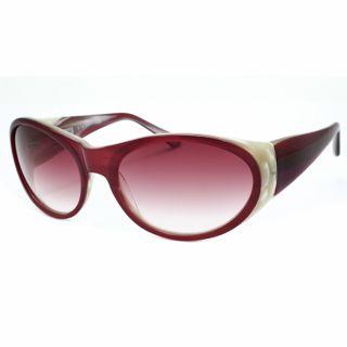 Derek Lam Womens Siri Wrap Sunglasses