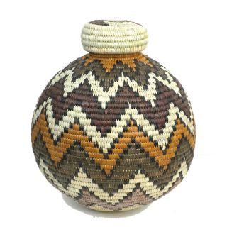 Isichumo Zulu Spears Beer Basket (South Africa)