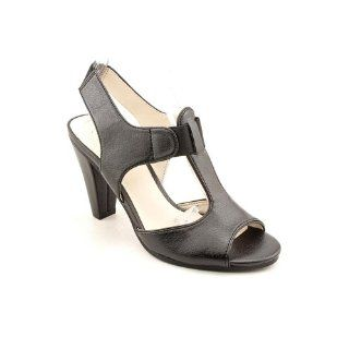 Nickels Karlotta Open Toe Open Toe Heels Shoes Black Womens