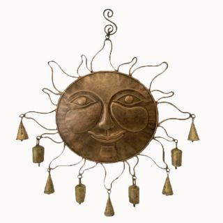 Coppertone Sun Wind Chime (India)