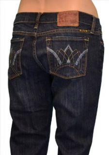 Lucky Brand Womens Zoe Straight Denim Jeans Regular