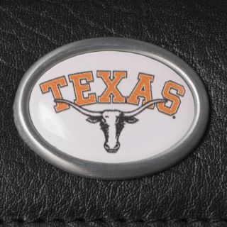 Texas Longhorns Mens NCAA Genuine Leather Money Clip