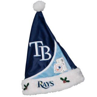 Tampa Bay Rays Polyester Santa Hat