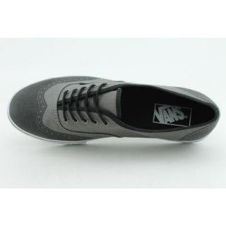 Vans Womens Authentic Lo Pro Gray Casual Shoes