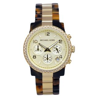 Michael Kors Womens Classic Tortoise/ Gold Watch