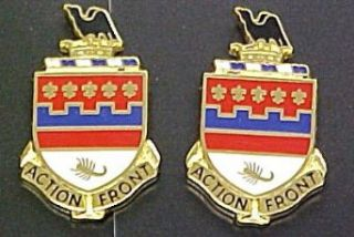 146th Field Artillery Distinctive Unit Insignia   Pair