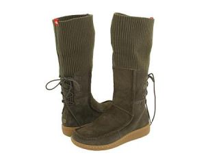 The North Face Womens Alana Mid New Taupe Green/Linden Green Boots