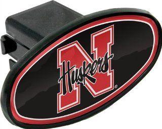 University of Nebraska Huskers Domed N Emblem Plastic