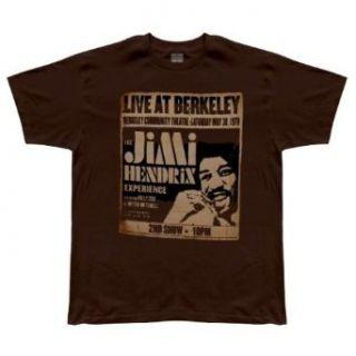 Jimi Hendrix   Live At Berkeley Soft T Shirt Clothing