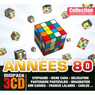 TOUS LES GRANDS TUBES DES ANNES 80   Compilation   Achat CD