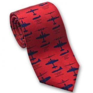 WWII Bomber Planes   Mens Silk Necktie Clothing