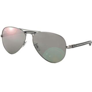 Ray Ban Unisex RB 8307 Carbon Fiber Aviator Sunglasses