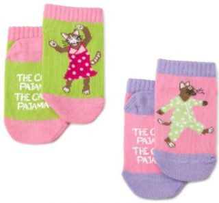 Hatley 2 Pairs Cats Pajamas Infant Socks Clothing