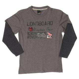 LONGBOARD Tee shirt ML Garçon   Achat / Vente T SHIRT LONGBOARD Tee