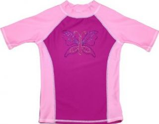 grUVywear UV Protective (UPF 50+) Girls Short Sleeve Shirt