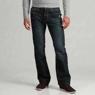 Hollywood The Jean People Mens Dark Denim Jeans