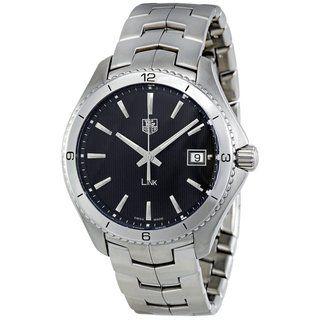 Tag Heuer Mens Stainless Steel Date Watch