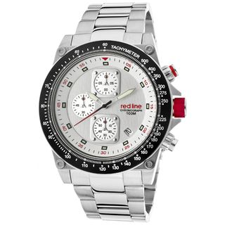 Red Line Mens Simulator Stainless Steel Watch