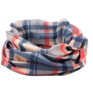 KLOUD ® Blue & Red & Gray & Light Pink face mask / neck