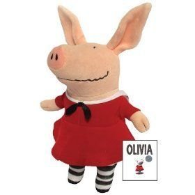 Olivia in Red Dress 11 by Merry Makers Toys & Games