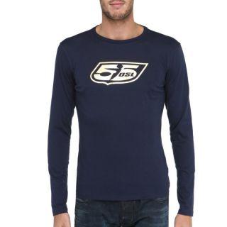55DSL T Shirt Gold Homme Bleu marine et doré   Achat / Vente T SHIRT