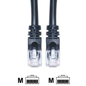 CAT 3 foot 5E Black Ethernet Cable (Pack of 5)