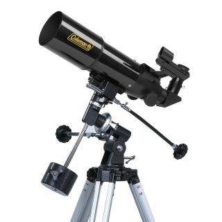 Coleman AstroWatch 400 x 80 Refractor Telescope with Starry Night CD