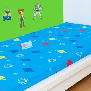 DRAP HOUSSE Toy Story   Picture   90 x 190 cm   DIMENSIONS  90 x 190
